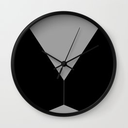 End of Today's Maze Wall Clock