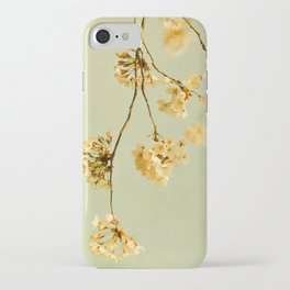 vintage cherry blossoms iPhone Case