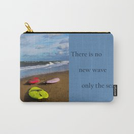 Waiting for a wave Carry-All Pouch