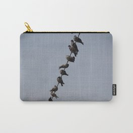 Like a bird on a wire Carry-All Pouch