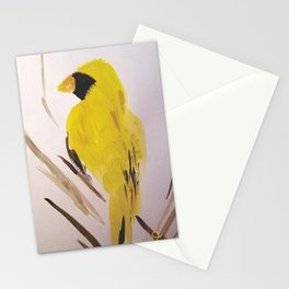 Yellow Cardinal Stationery Cards