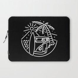 Van, Surf, and Beach Laptop Sleeve