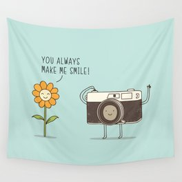 smile! Wall Tapestry