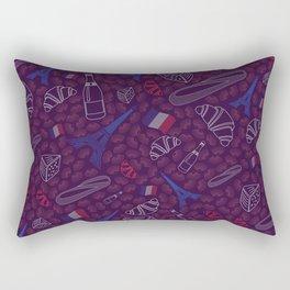 French pattern Rectangular Pillow