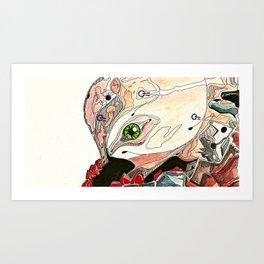 Mass Production Destruction (4/5)  Art Print