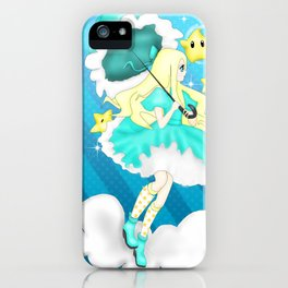 In the Sky: Rosalina iPhone Case