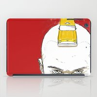 taxi driver iPad Cases featuring Taxi Driver by Matthew Bartlett