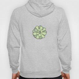 Green suculent Hoody