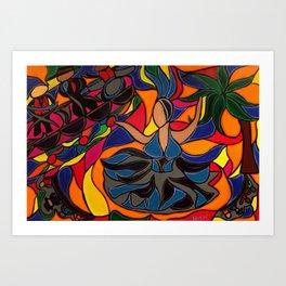 Tucan Con Alma Art Print