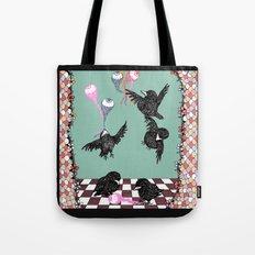 Crow Serie :: Eye Balloons (cria cuervos y te sacaran los ojos) Tote Bag