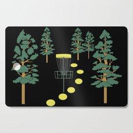 Disc Golf Stupid Trees Woods Men Women Court Gift Cutting Board