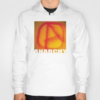 anarchy Hoodies featuring anarchy by XiXi