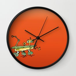 Curiosity, the rover Wall Clock
