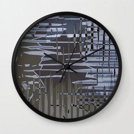 Jagged. Wall Clock