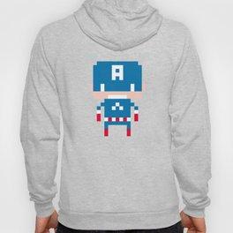Pixel Captain America Hoody