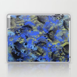 Blue Black Laptop & iPad Skin