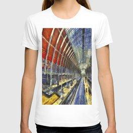 Paddington Railway Station Art T-shirt