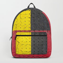 Yellow Grey Red Backpack