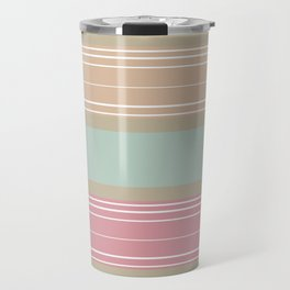 Stripe Pattern IX Travel Mug