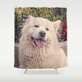 Angel In Disguise II Shower Curtain