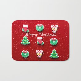 Merry Christmas 2 Bath Mat