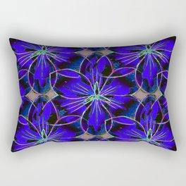 Flower Sketch 6 Rectangular Pillow