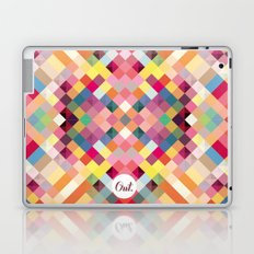 out square Laptop & iPad Skin
