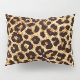 faux shop imports fuzzy snow pier pillow leopard