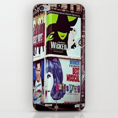 New York City Broadway Signs iPhone & iPod Skin