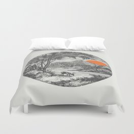 Another Day Duvet Cover