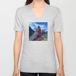 Mysterious, Magical Rock Unisex V-Neck