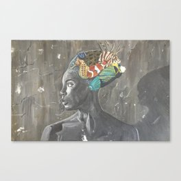 lady fish Canvas Print