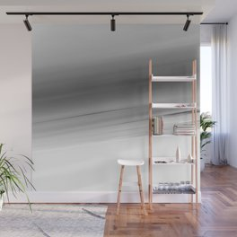 Gray Smooth Ombre Wall Mural