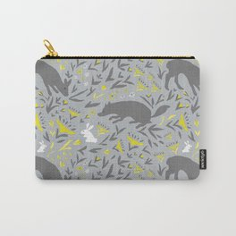 Folky Forest Carry-All Pouch