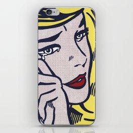 Roy Lichtenstein, Crying Girl, 1964 iPhone Skin
