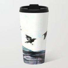Crows Metal Travel Mug