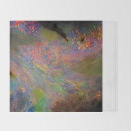 Australian opal From Winton Throw Blanket