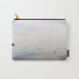 Water reflections on Garda lake Carry-All Pouch