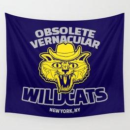 Obsolete Vernacular Wildcats (Royal Tenenbaums) Wall Tapestry