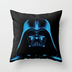 The Dark Vader, Star Wars Tribute Throw Pillow
