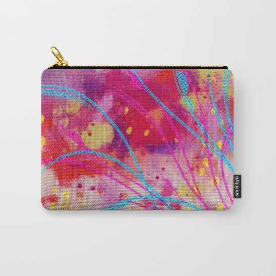 Wild sprouts in CMYK Carry-All Pouch