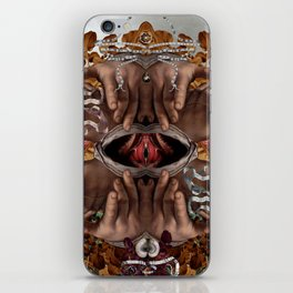 Vesica piscis iPhone Skin
