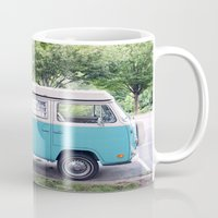 vw Mugs featuring VW by myhideaway