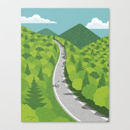 Going uphill Canvas Print