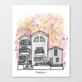 Splash   Costa Nova Canvas Print
