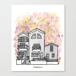 Splash | Costa Nova Canvas Print