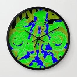 K. Rider Wall Clock