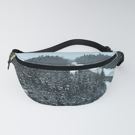 Around the Bend and Up over the Top Fanny Pack