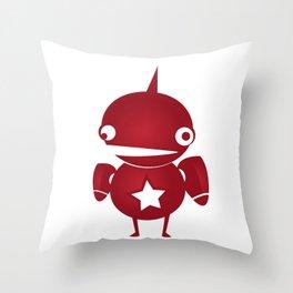 minima - slowbot 002 Throw Pillow