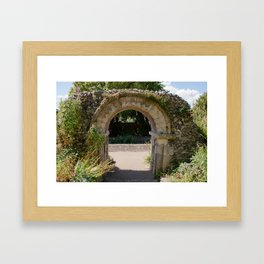 The Old Archway Framed Art Print